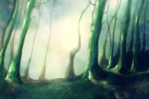 Forest 1 by Aetharius