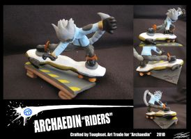 "AT, Archaedin ""Riders"" by Toughset"