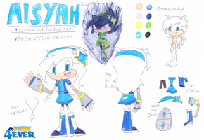 Aisyah Sonic4Ever version by sonic4ever760