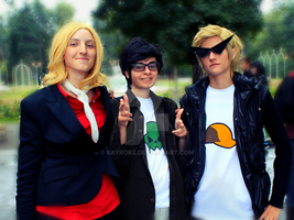 Homestuck Bros by RayRoks
