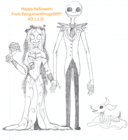 The Corpse Bride's Nightmare Before Christmas by Penguinanthrogirl99
