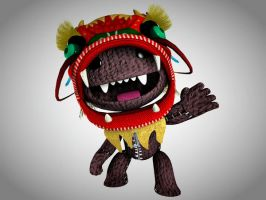 LBP Dragon Costume HDR by Sun2DustART