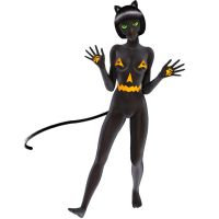 BooCat - yes she's naked, hush by SilkaLiveDoll