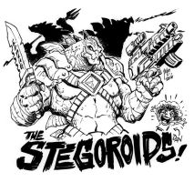THE STEGOROIDS for Danny Sexbang by KaijuSamurai