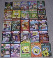 My Nicktoon DVDs by nintendomaximus