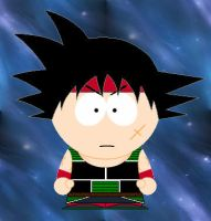 South Park Bardock by grimmjack