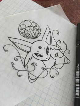 Espeon  by prsly