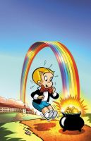Richie Rich Digital Classic 09 cover colors by DustinEvans