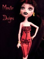 Draculaura 4 Monster Designs by MonsterDesigns1