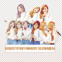 [PNGPACK] Tiffany#2 render- Girl's Generation by JulieMin