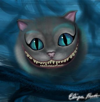 Chesire Cat by s-a-r-i-n-a