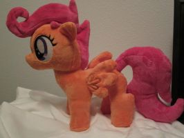 my little pony Scootaloo Plushie by Little-Broy-Peep