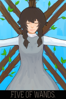 [Event 5] Five of Wands by LittleTreeHugger