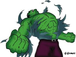 The Incredible Hulk by g-gomez