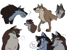 More Aleu + Niju Pups by Supatsu