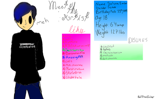 Meet the artist meme by Sal-the-Inker