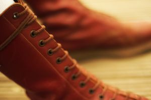 Ox Blood - Doc Martens by SirBiggithBrian