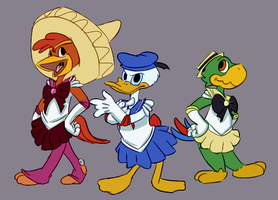 Sailor Caballeros by Dipschtick