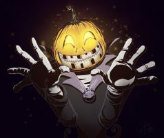Happy Early Halloween from the Pumpkin King by tripplejaz
