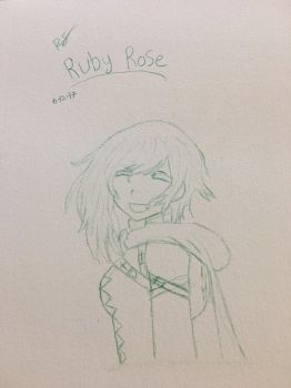 Ruby Rose  by DeathTaleCCS