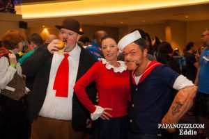 D*Con 13' Whatever Shots? - 14 Popeye Squad by PAPANOTZZI