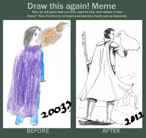Draw This Again meme 2 by starxfruit