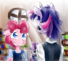 ''You got something on your face...'' by Annie-Aya
