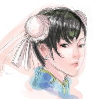 Chun li face by ultimatewp