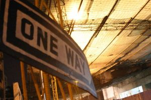 one way sign by laszlo-616