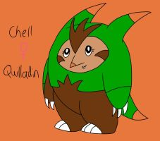 Chell the Quilladin [Lv-30] by AnnoyedClaude