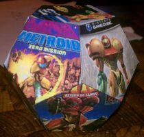 Metroid Cover Dodecahedron 1 by gpsc