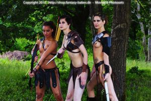 3 Watching Amazons by FantasyBabes