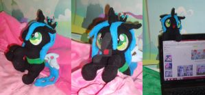 Queen Chrysalis Plush by My-Little-Plush