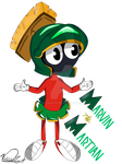 Marvin the Martian by katychira