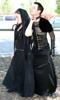 Corset Stalker and Moe 90 by Falln-Stock