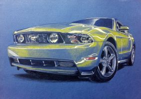Ford Mustang GT by anna-solitaire