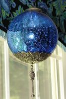 Mystic Blue Orb Ornament by FantasyStock