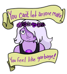 Steven Universe Amethyst Flower Crown by LizDraws