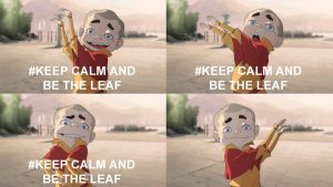 Be The Leaf - Meelo by xxBrandy
