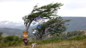 Windy day: Rayman and Raymesis by Angrybird54