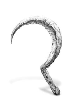 Pencil Drawing Of A Sickle by jd84