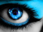 Through a ravers Eyes by TechnoColorGraphic