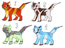 Designs adopts- 1/4 open!!! by xSpickeyx