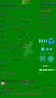 TK Shenin Sprite Sheet by TKrizer69