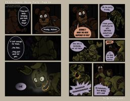 FNAF4 Comic - House Party - Page 12 - 6-13-16 by Mattartist25