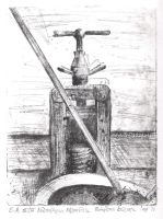 An Old Etching Press by StoryTellerF