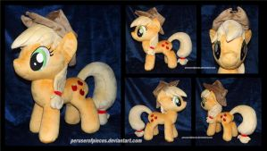 Applejack -- Bronycon 2014 by Peruserofpieces