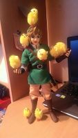 Link was attacked by Cuccos by ShadowGiratina11