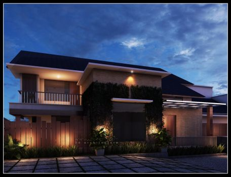 3D Residence Exterior by imadsta