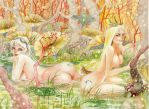 Bambi and Lotta by Gai-Gaal